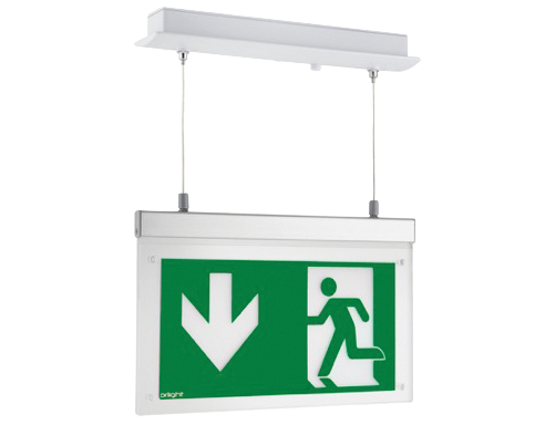 Led Recessed Suspended Exit Sign